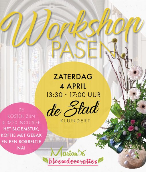 FB-post workshop pasen